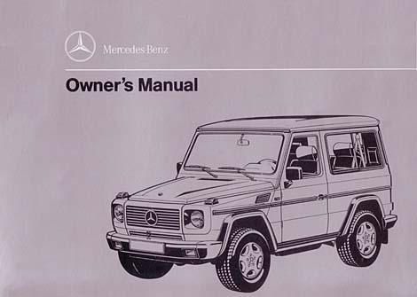g class 463 gelaendewagen owners manuals and operating instructions rh 4x4abc com Mercedes Manuals Marietta GA Mercedes Manuals Marietta GA