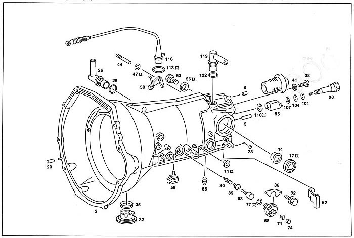 Mercedes Benz Parts Diagrams